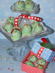How to make Grinch Truffles