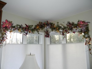 Christmas decor- magical fairy garland