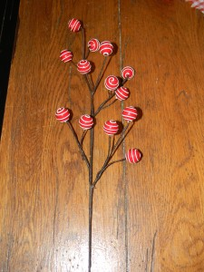 Whimsical decorative step for Santa Christmas tree topper