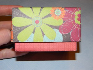 How to make a small gift box with a taller bottom