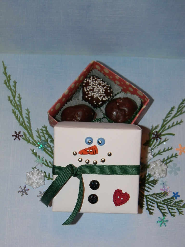 How to make a snowman box joyful daisy