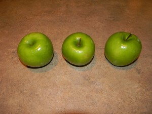 How to make caramel apples before picture
