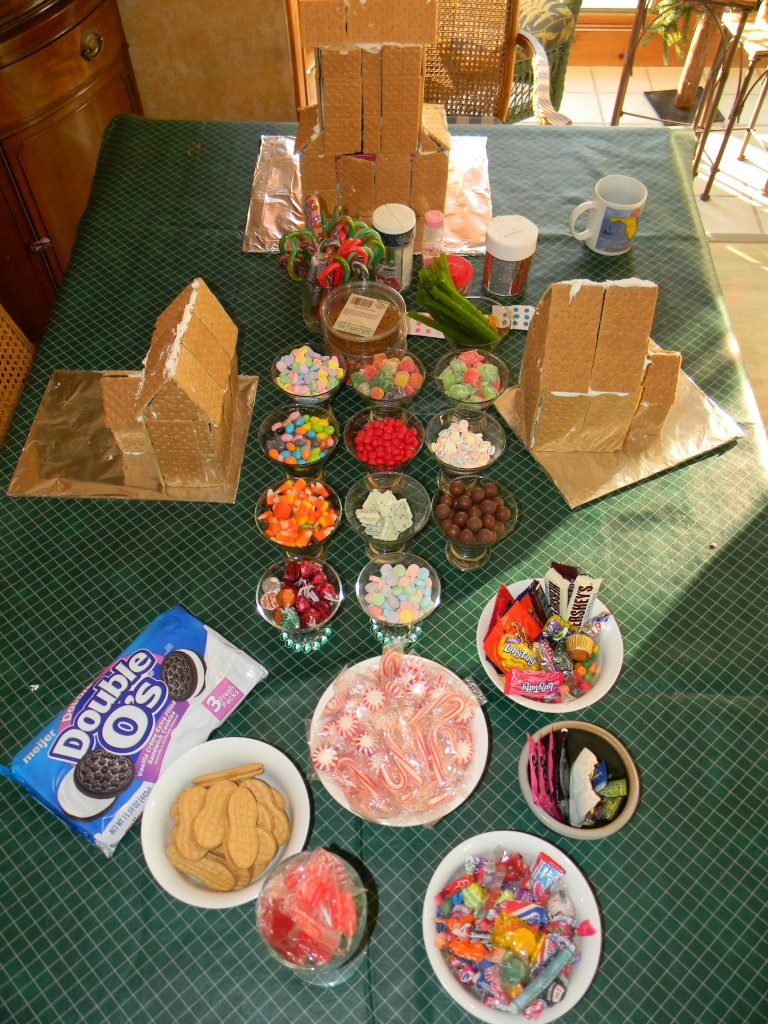 Gingerbread House Creation Table