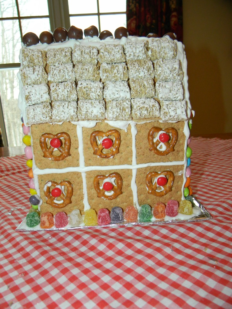 Lily Gingerbread House Rear VIew