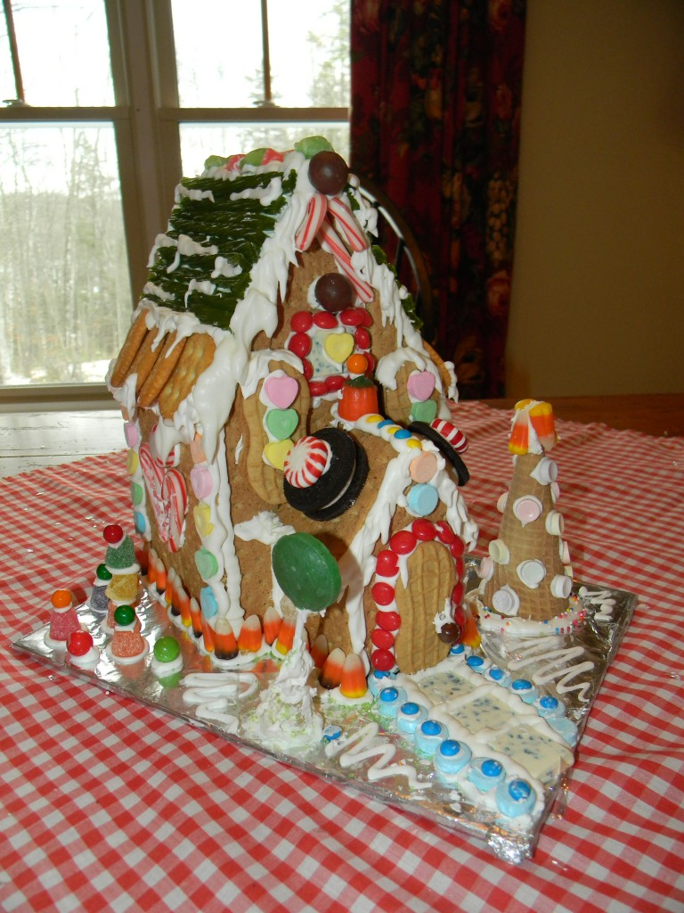 Reece's finished house
