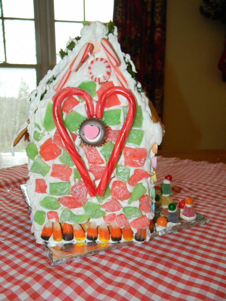 Reece Gingerbread House Rear View