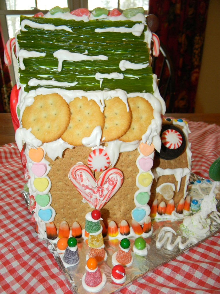 Reece Gingerbread House Side VIew