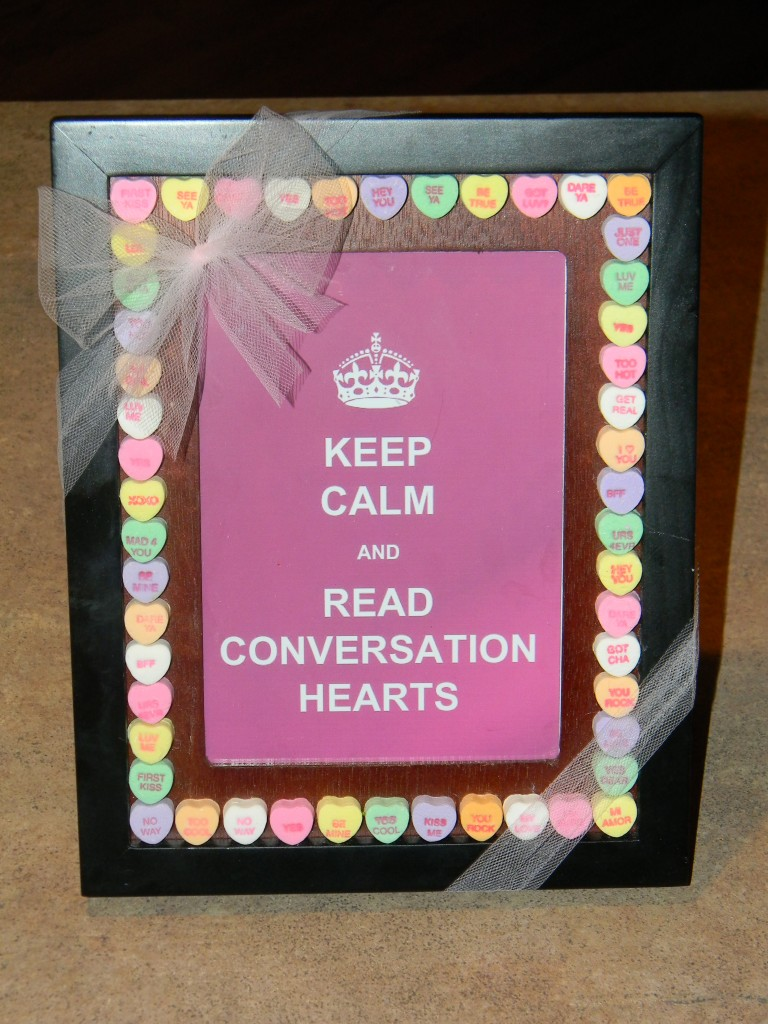 Keep Calm Frame for Valentine's Day