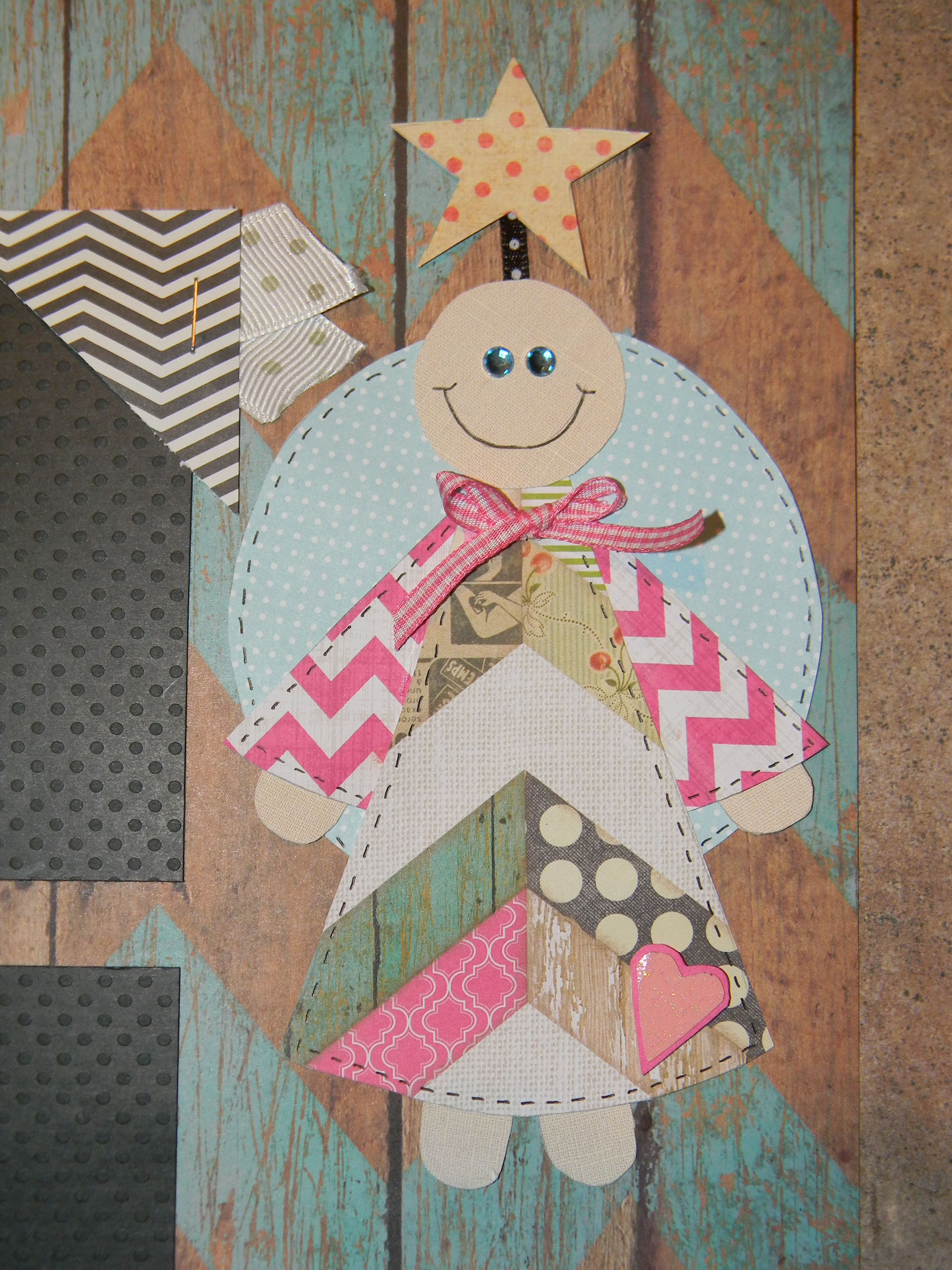 Scrap book pages - My Little Angels Scrapbook Pages Angel Close Up