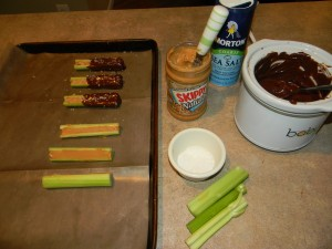Gourmet Celery in progress