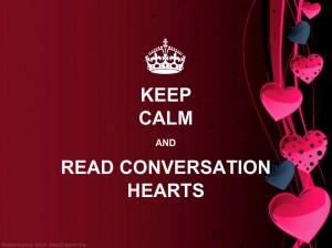 Keep Calm and Read Conversation Hearts 3