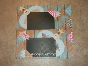 angel scrapbook layout, scrapbook pages, scrapbooking