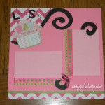 cupcake scrapbook layout, scrapbooking, scrapbook pages, scrapbook ideas