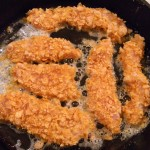 Frosted flake chicken tenders