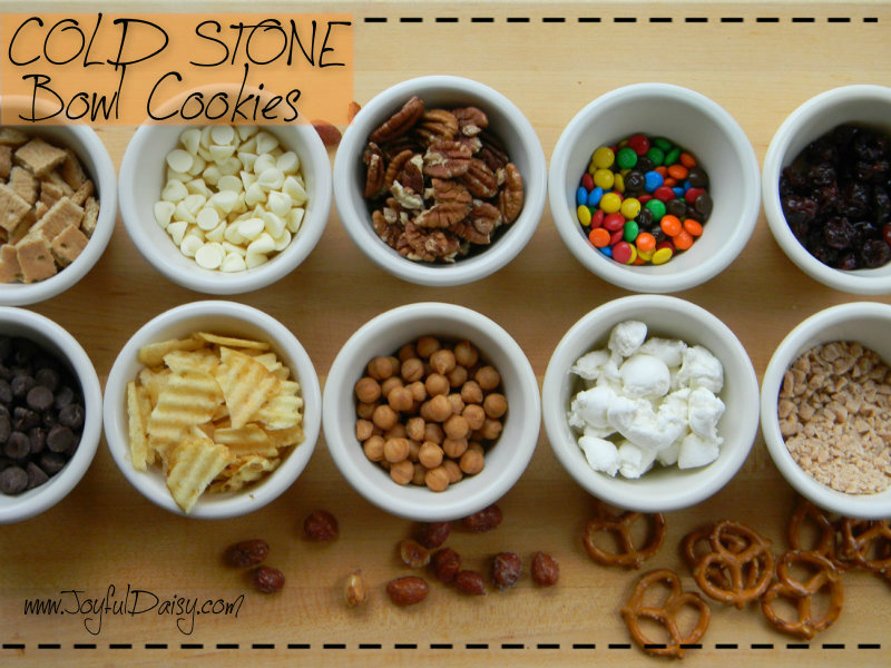Cold Stone Bowl Cookies