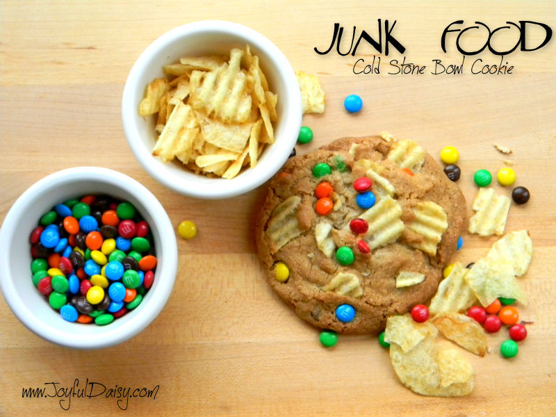 Junk Food Cold Stone Bowl Cookies
