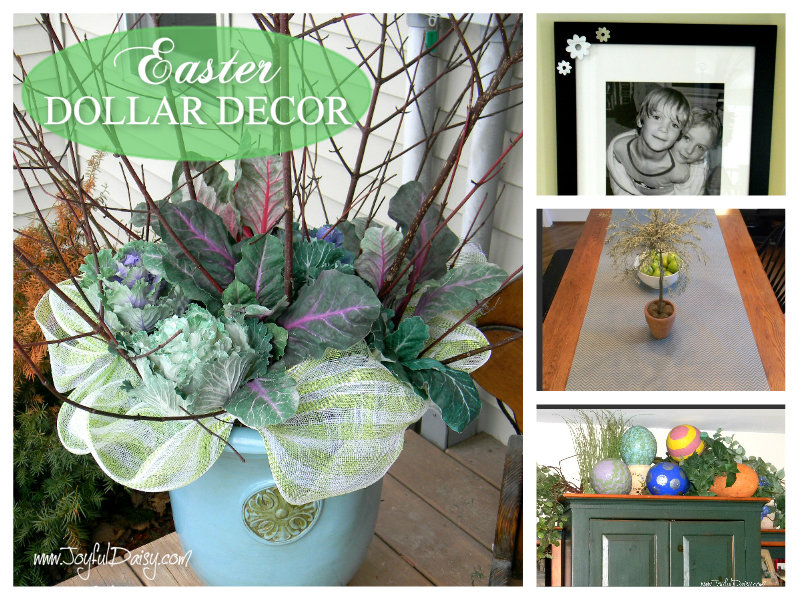 easter dollar decorations