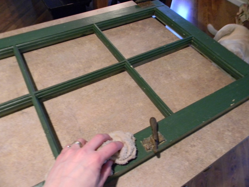 trash to treasure window frame
