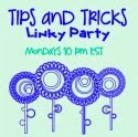 Tips and tricks linky button  FEARLESSLY CREATIVE