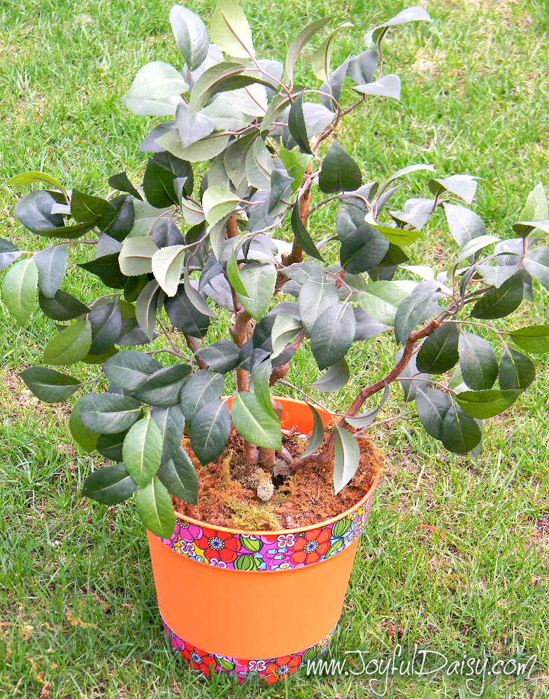 duck tape planter