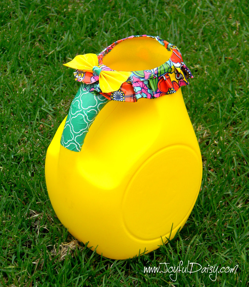 duck tape watering can