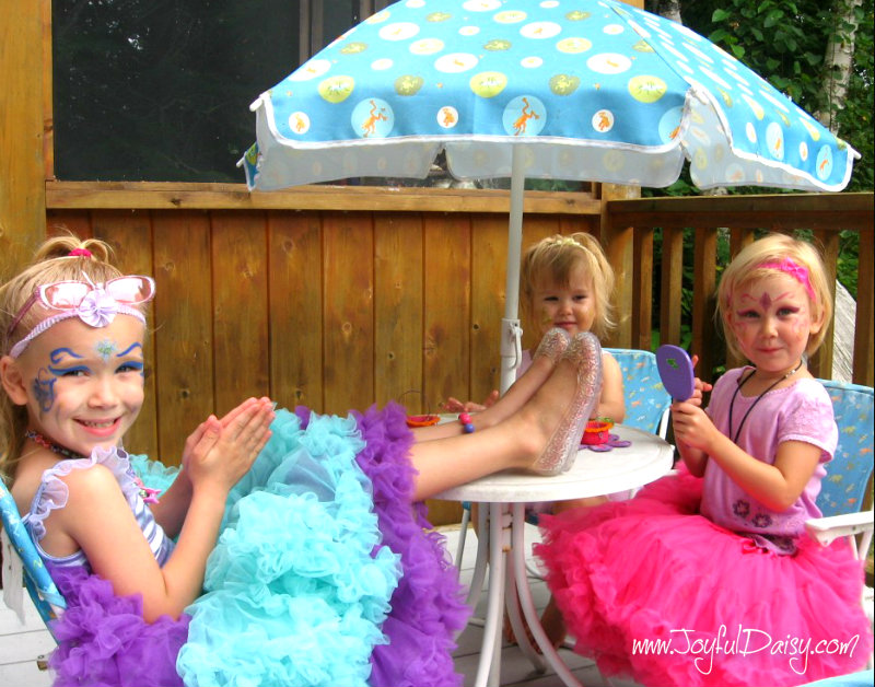 fairy party activity- glitter time