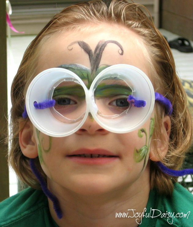 fairy party ideas - tinker glasses