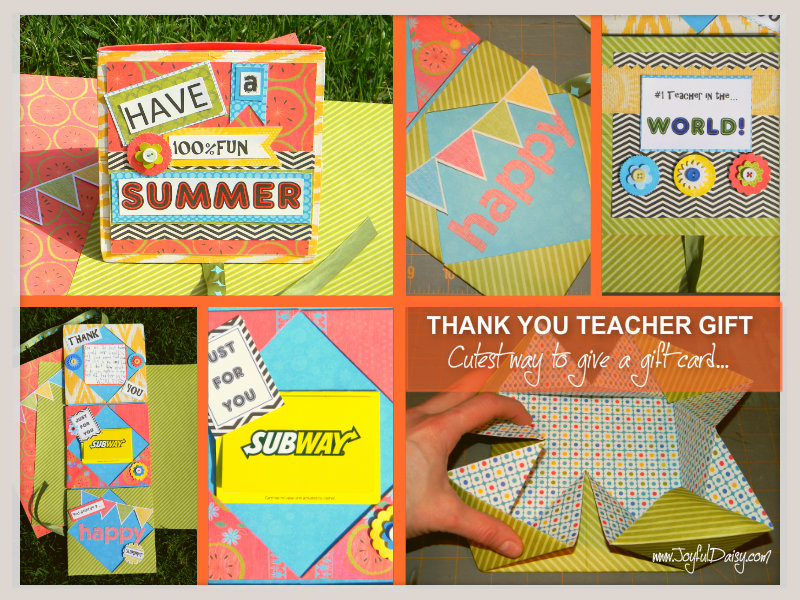 teacher gift, gift card