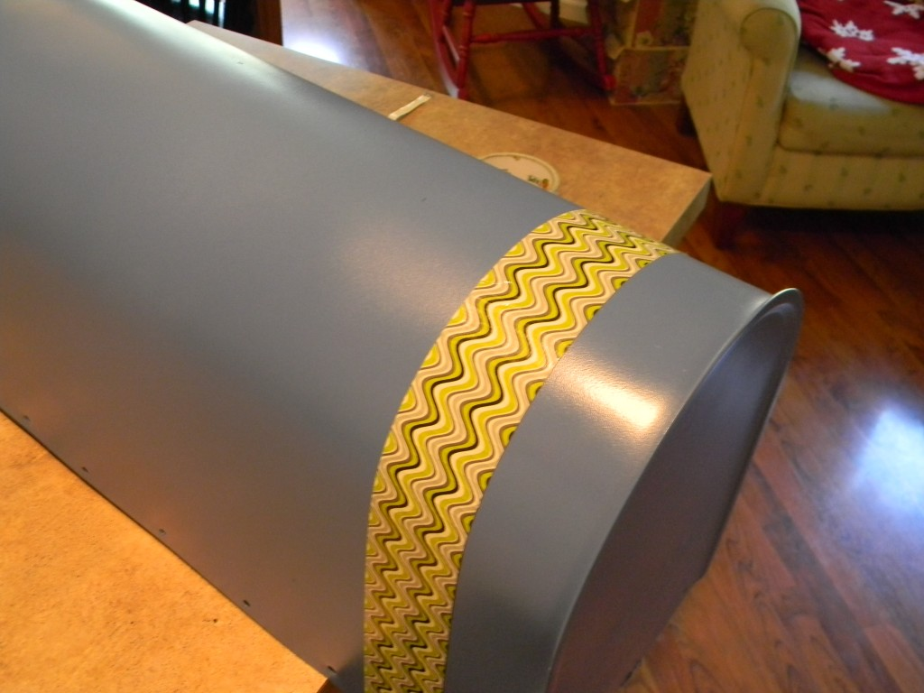 Duck Tape Crafts- Mailbox makeover