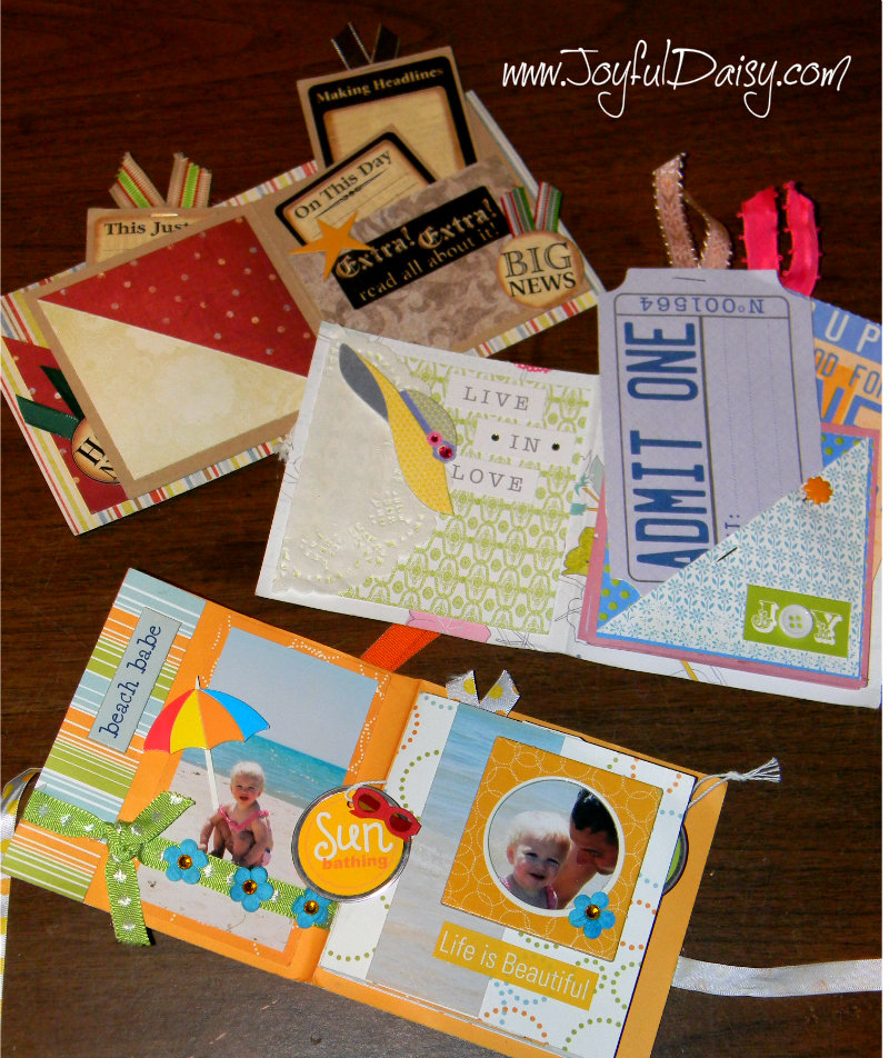 mini scrapbook card assortment