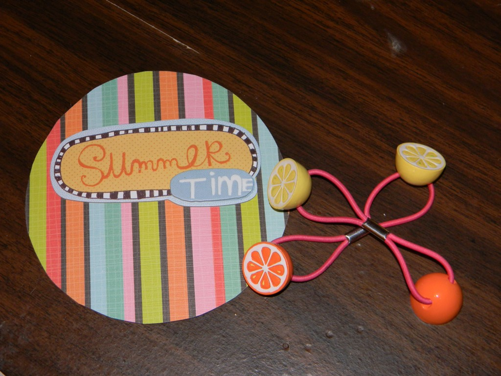 Mini CD Scrapbook Cover