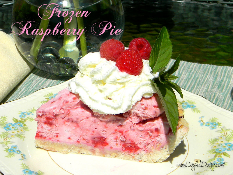 Frozen raspberry pie PZ