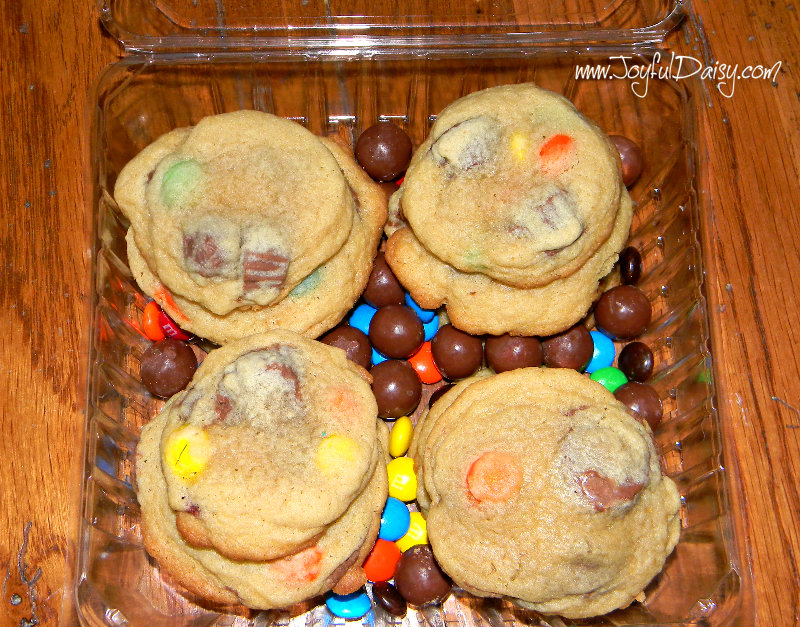candy cookies with candy