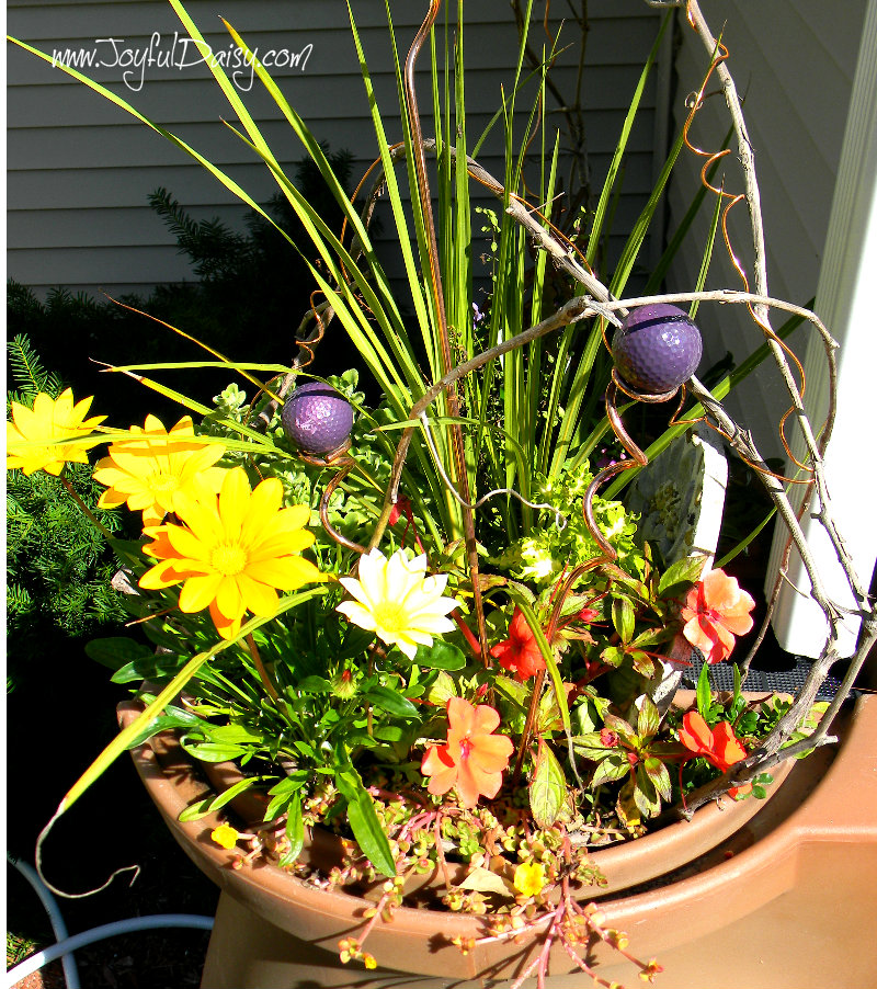 rain barrel flowers 2