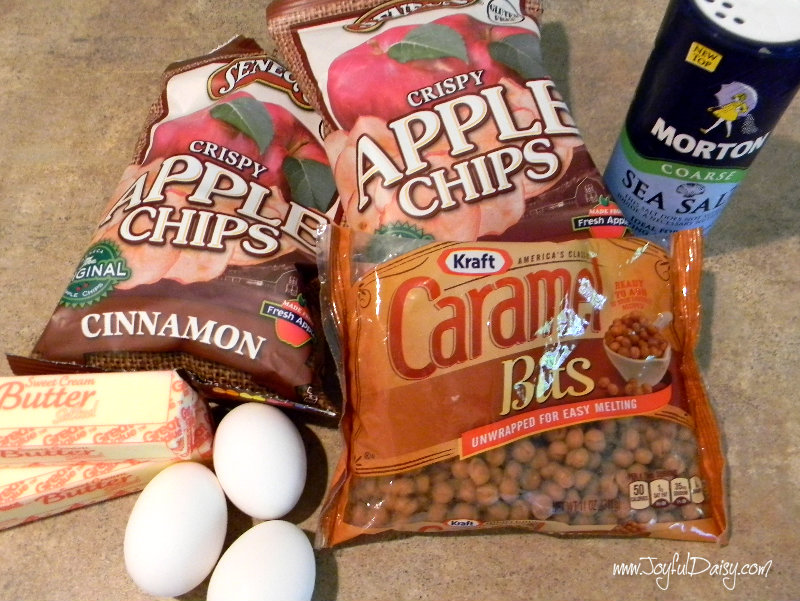 caramel apple blondies ingredients