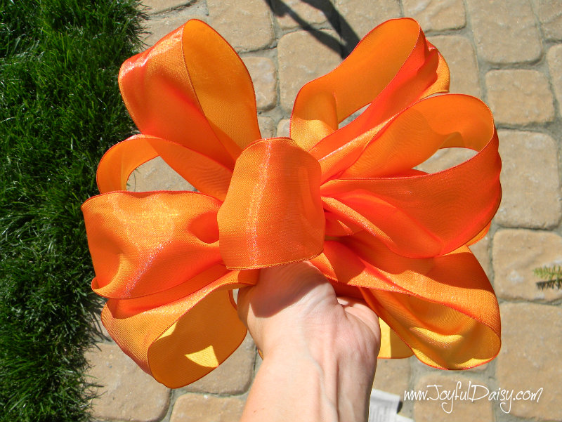 fall decor bow