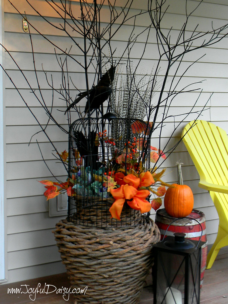 fall porch decor 2