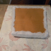how to upholster a seat cushion