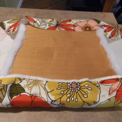 seat cushion makeover