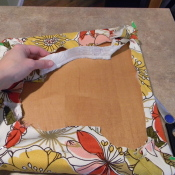 how to upholster small furniture pieces