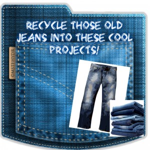 RECYCLED DENIM PROJECTS