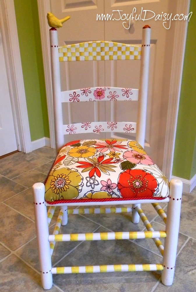 joyful daisy chair