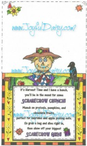 scarecrow crunch color digi stamp