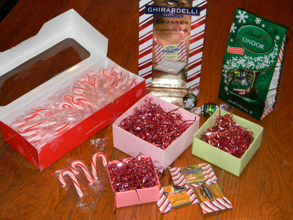 hand packaged store bought gifts