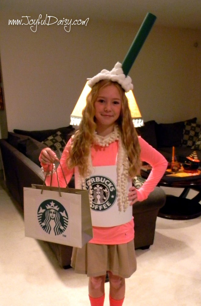 lily latte starbuck coffee drink costume