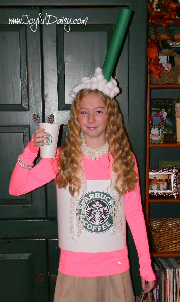 LILY LATTE Simple Fun Inexpensive Costume!