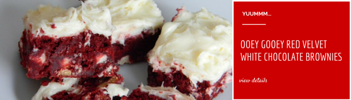 OOEY GOOEY RED VELVET WHITE