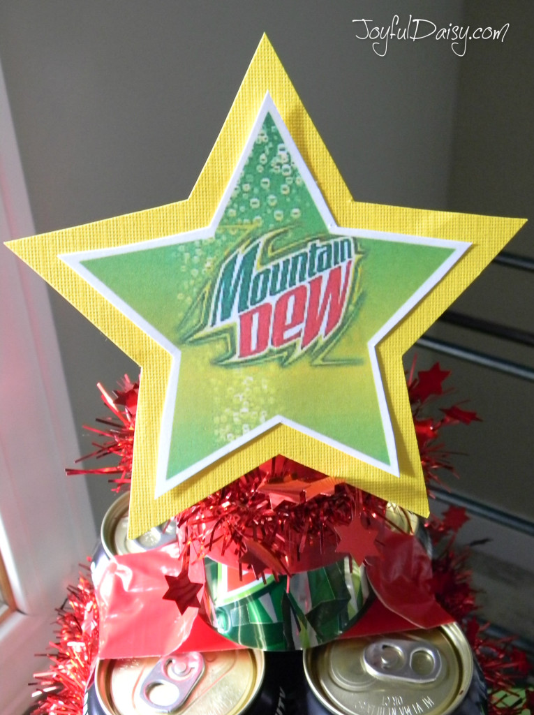 mountain dew christmas tree topper