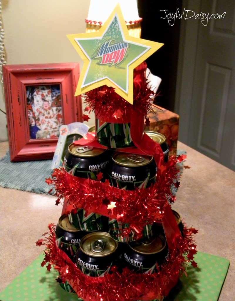 pop can tree gift
