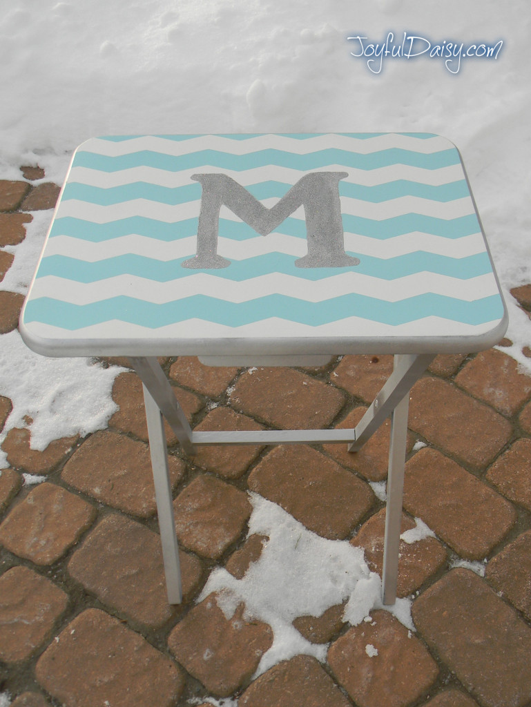 monogrammed furniture